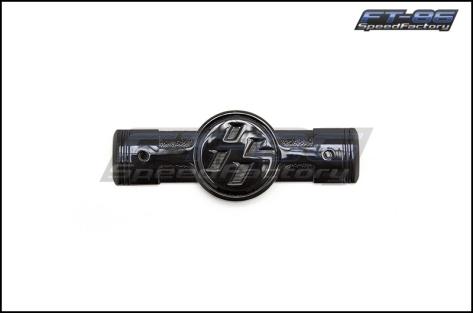 Toyota Gloss Black Fender Piston Emblems - 2013+ BRZ / 2013+ FR-S