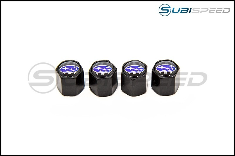 Subaru Logo Valve Caps