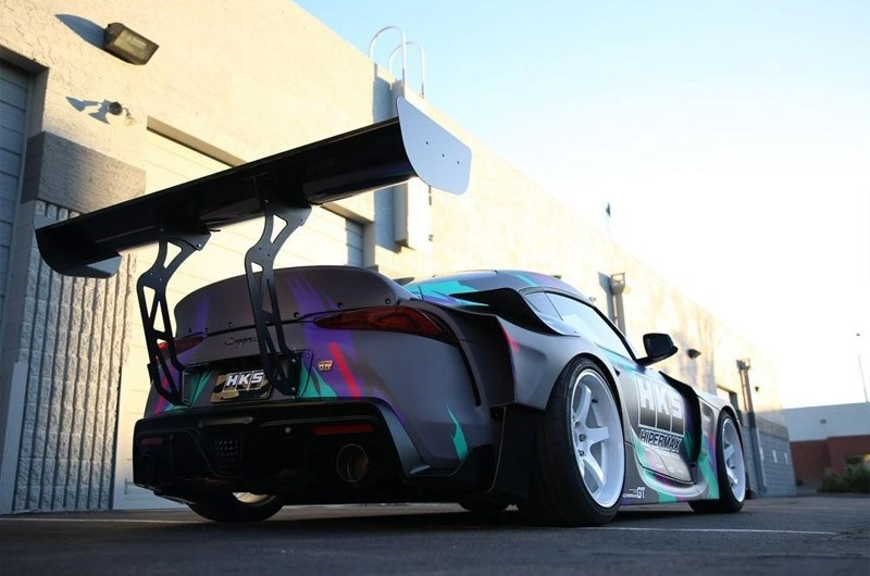 HKS FRP GT Wing Spoiler