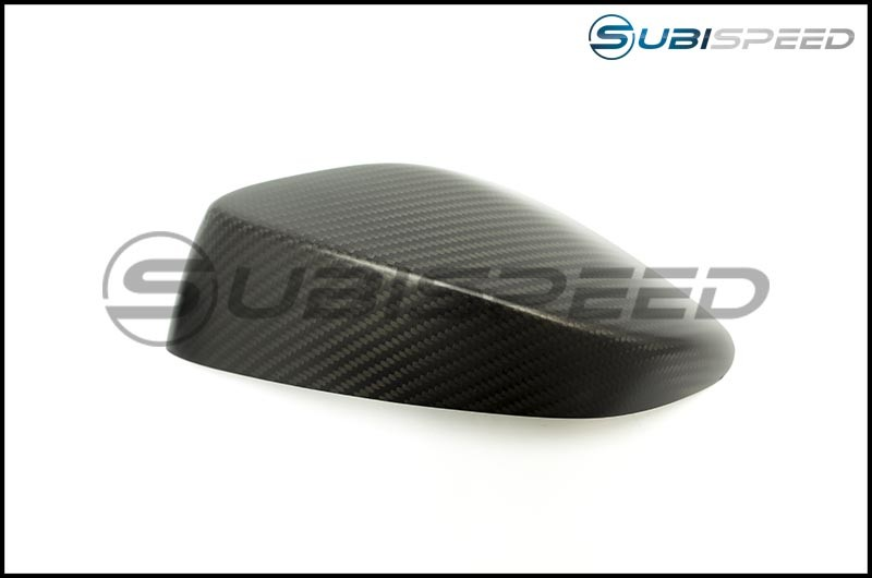 OLM Matte Dry Carbon Fiber Mirror Covers