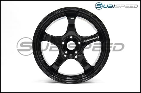 WedsSport RN-05M Gloss Black 18x9.5 +45 - 2013+ FR-S / BRZ / 86 / 2014+ Forester