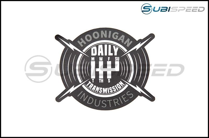 HOONIGAN Daily Transmission Sticker