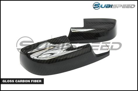 OLM S-line Dry Carbon Fiber Mirror Covers (lower) - 2015+ WRX / 2015+ STI