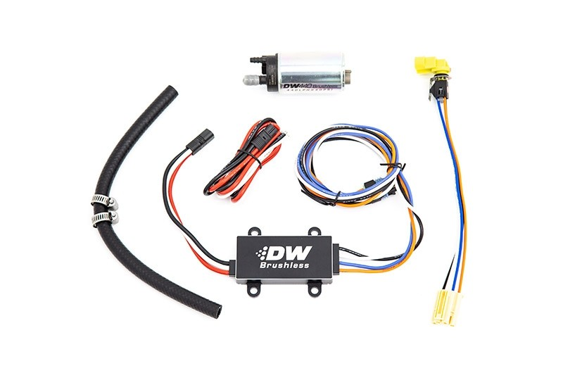 DeatschWerks DW440 440lph Brushless Fuel Pump w/ Dual Speed Controller