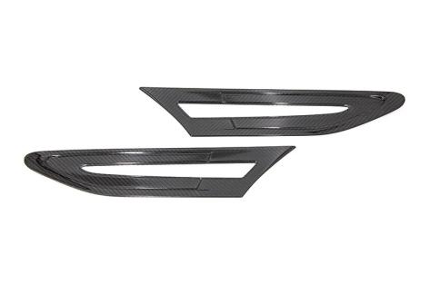 OLM Carbon Fiber Fender Grille Cover (Hollow)