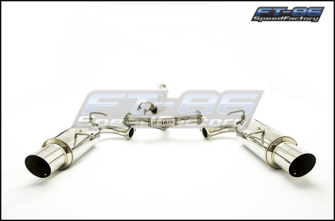 Invidia N1 Catback Exhaust SS Tips - 2013+ FR-S / BRZ