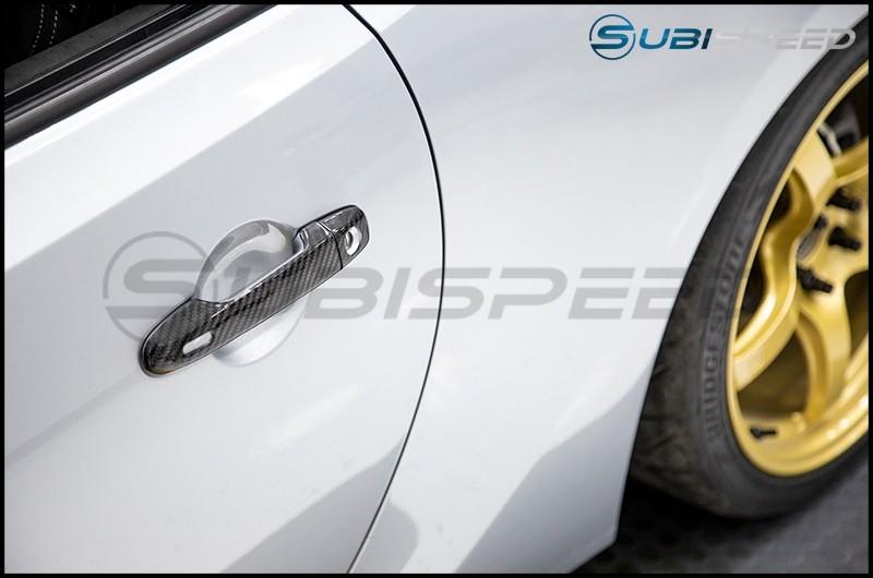 OLM S-Line Dry Carbon Fiber Door Handle Cover