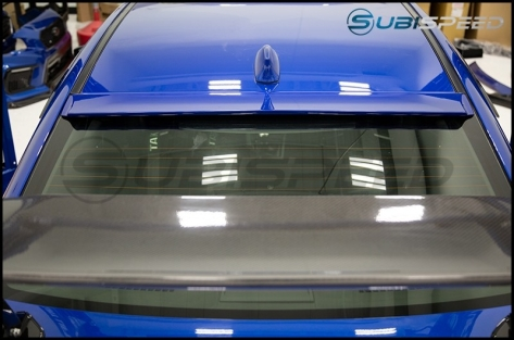 OLM Kaze Style Paint Matched Roof Spoiler