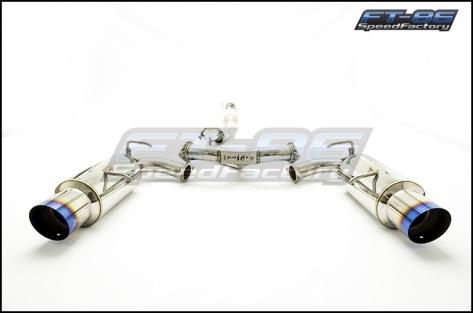 Invidia N1 Catback Exhaust TI Tips - 2013+ FR-S / BRZ