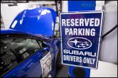 Subaru Reserved Parking Sign - Universal
