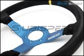 Sparco L550 Monza Suede Steering Wheel - Universal