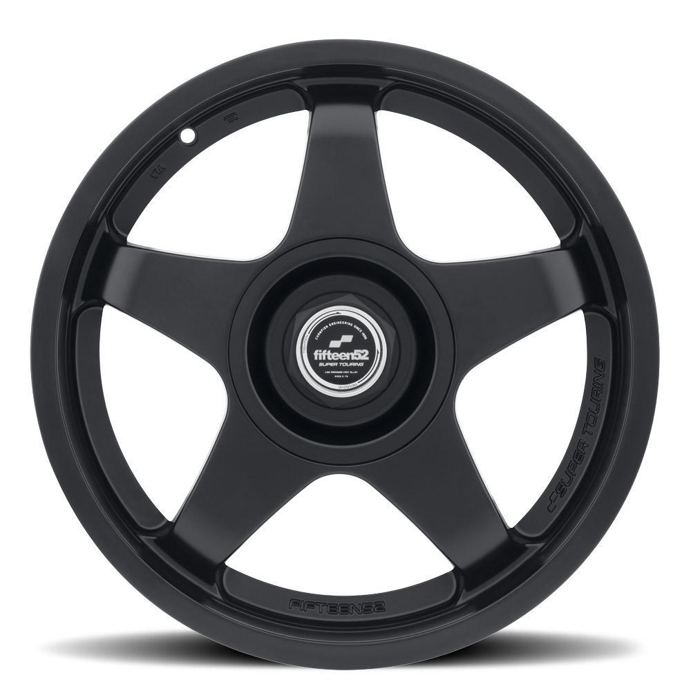 fifteen52 Chicane 18x8.5 +45 Asphalt Black - 2015+ WRX / STI / 2013+ FR-S / BRZ / 86 / 2014+ Forester