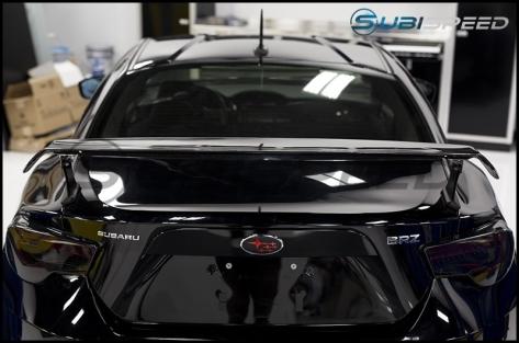 Sard LSR Style Carbon Fiber Wing - 2013+ FR-S / BRZ / 86
