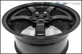Rays Gram Lights 57CR Gloss Black 18x9.5 +38 - 2013+ FR-S / BRZ / 86 / 2014+ Forester