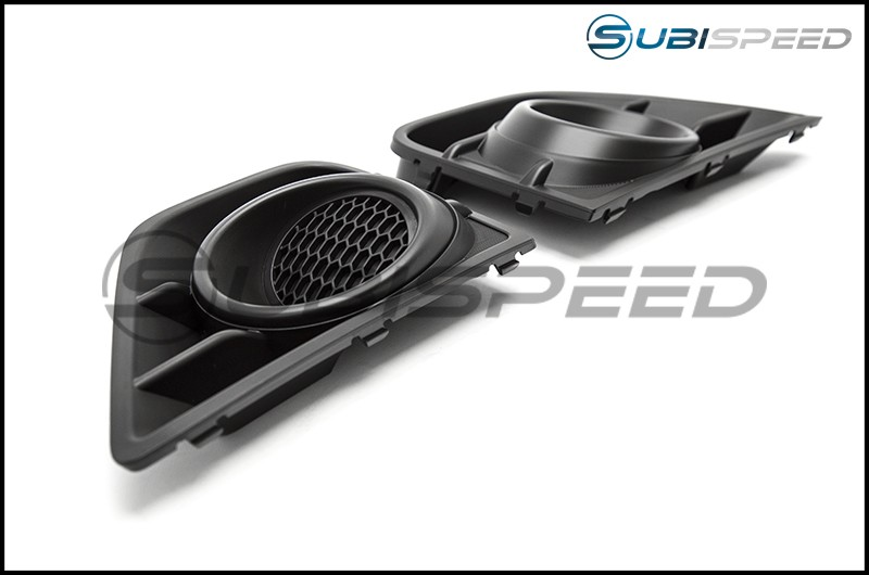 Subaru JDM Fog Light Bezels without Fog Light Hole