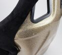 NRG Innovations FRP Bucket Seat ULTRA Edition with peralized back, Black alcantara material(medium) - Universal