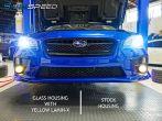Fog Light Upgrade Kit with Glass Housings - 2015+ WRX / 2015+ STI / 2013+ FR-S / BRZ / 2014+ Forester / 2013+ Crosstrek