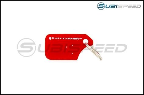 Rally Armor Mud Flap Keychain - Universal