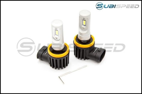 OLM First Strike Plug and Play Fog Light Bulbs - 15+ WRX / 15-17 STI / 14-18 Forester / 13-17 Crosstrek
