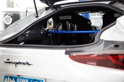 Cusco Power Brace Trunk Harness Bar - 2020+ A90 Supra