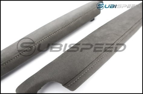 Subaru BRZ tS JDM Grey Alcantara Arm Rest - 2013+ FR-S / BRZ / 86