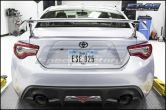 2017 Gloss Black Front and Rear Toyota Emblems - 2017+ 86