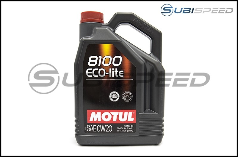 Motul 5L Jug Synthetic Engine Oil 8100 0W20 ECO-LITE