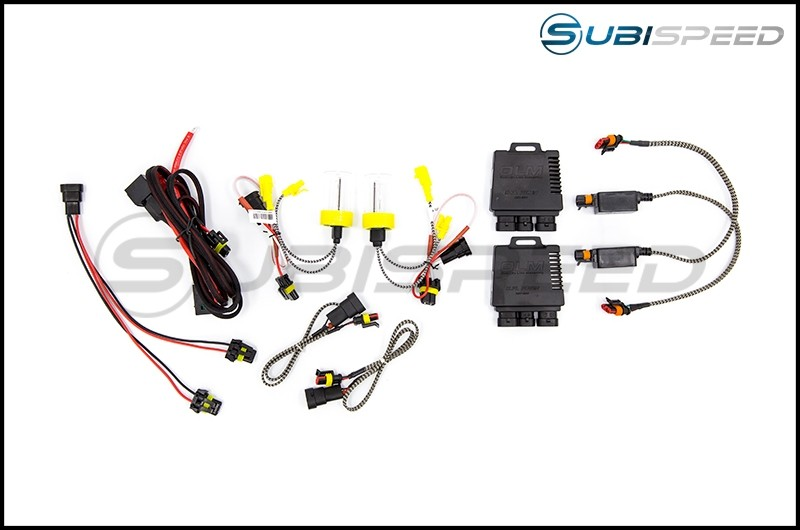 OLM 35w/55w Dual Power Headlight H11 HID Kit (various colors)