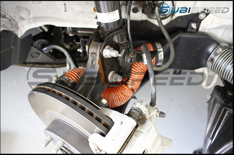 Verus Performance Brake Cooling Kit (Ducts)