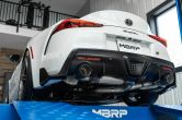 MBRP 3in Cat-Back Dual Rear Outlet Exhaust System - 2020-2021 Toyota A90 Supra