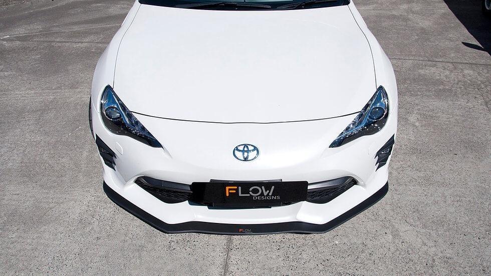 Flow Designs Facelift Front Splitter V1 without Support Rods