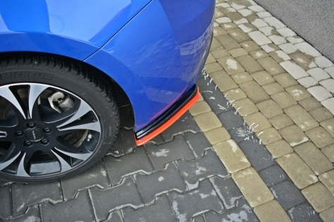 Maxton Design V2 Redline Rear Side Splitters - 2013+ FR-S / BRZ / 86