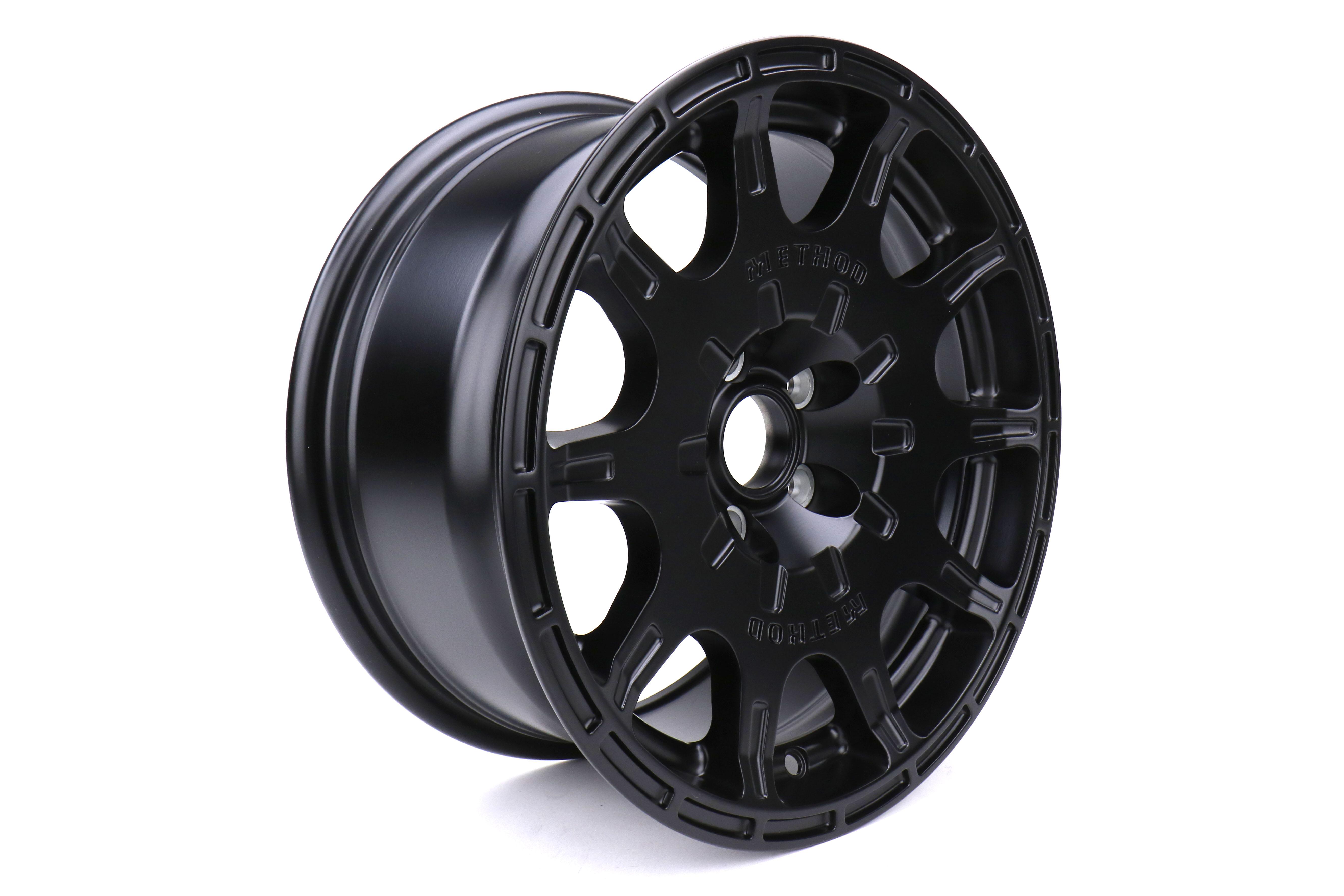 Method Race Wheels MR502 VT-SPEC 2 15x7 5x100 +15 Matte Black