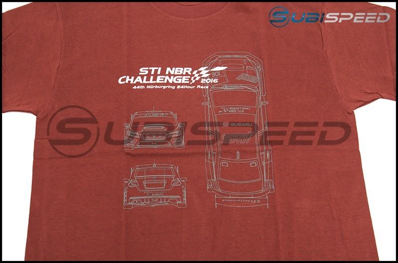 Limited Edition Subaru NBR 2016 Commemorative T-Shirt / Vehicle Design