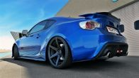 Maxton Design Gloss Black Rear Spats V1 - 2013+ FR-S / BRZ / 86